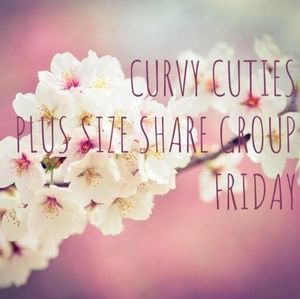 Tops - 3/22 PLUS SIZE SHARE GROUP: Curvy Cuties